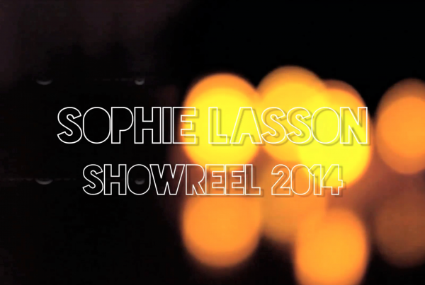 Sophie Lasson Showreel